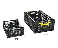 アズワン ESD折り畳みコンテナー 44L CFC-6 /3-9149-02