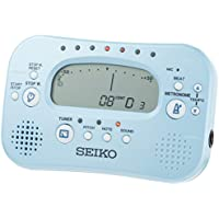 SEIKO セイコー チューナー&メトロノーム ストップウォッチ付 スペシャルパック シルバーSTH100SP