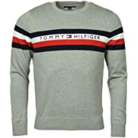 Tommy Hilfiger Mens Pullover Logo Sweater