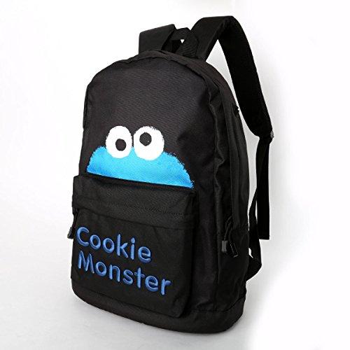 SESAME STREET(セサミストーリート) セサミストリート バックパック Cookie Monster・ブラック
