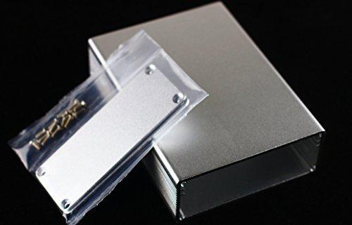 【自作用】DIY デジタルアンプ ポータブルヘッドフォンアンプ に最適! アルミ製ケース ボックス 箱 電子工作 キット 汎用  サイズ:100*74*29mm