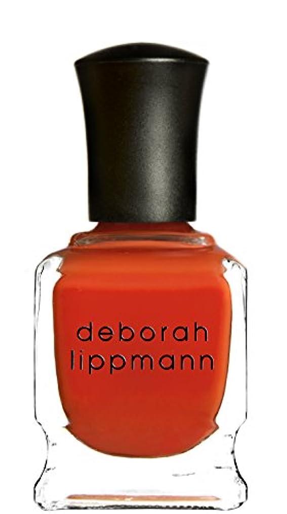 苛性わずかな移住する[Deborah Lippmann] デボラリップマン DON'T STOP BELIEVIN' ドント ストップ ビリービン 色:レッドオレンジ ネイルカラー系統:赤 15mL