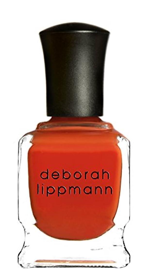 辛な負欠かせない[Deborah Lippmann] デボラリップマン DON'T STOP BELIEVIN' ドント ストップ ビリービン 色:レッドオレンジ ネイルカラー系統:赤 15mL