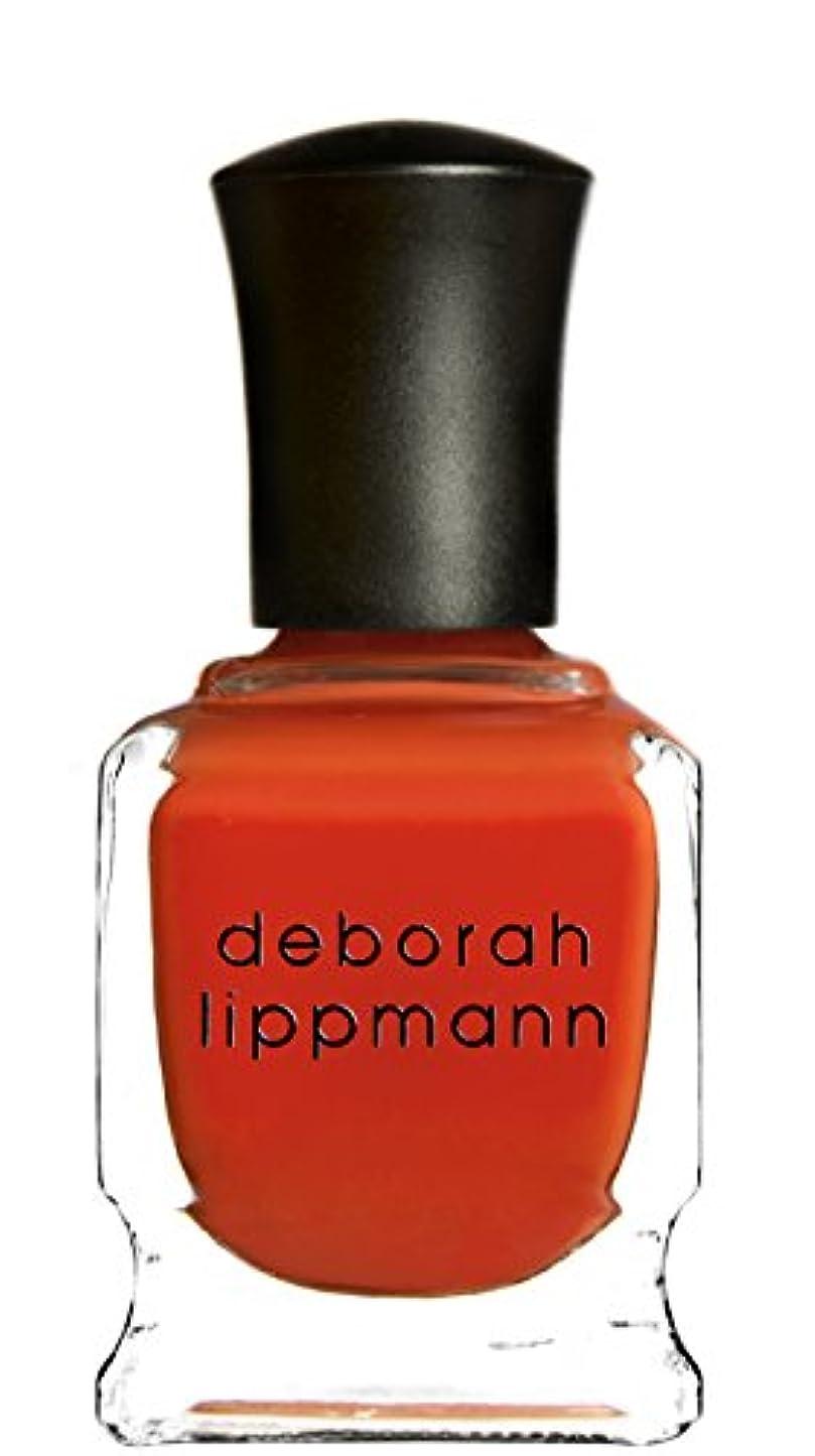 暴力富豪尋ねる[Deborah Lippmann] デボラリップマン DON'T STOP BELIEVIN' ドント ストップ ビリービン 色:レッドオレンジ ネイルカラー系統:赤 15mL