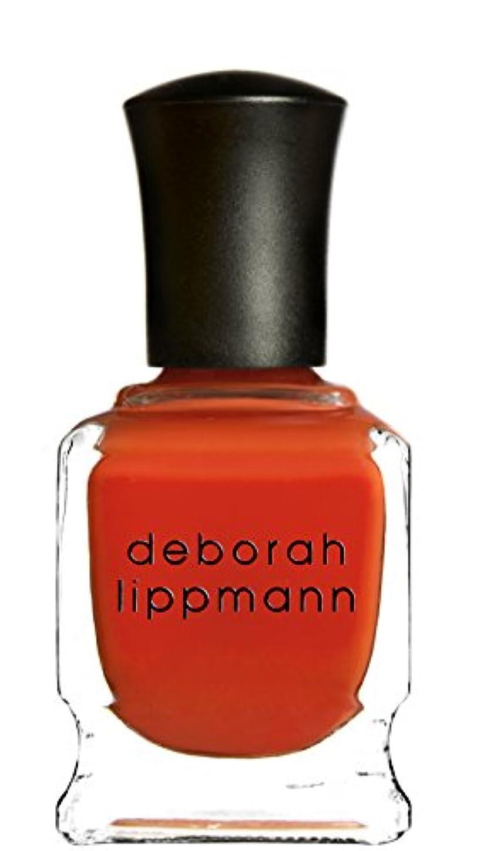 ふけるどこおもちゃ[Deborah Lippmann] デボラリップマン DON'T STOP BELIEVIN' ドント ストップ ビリービン 色:レッドオレンジ ネイルカラー系統:赤 15mL