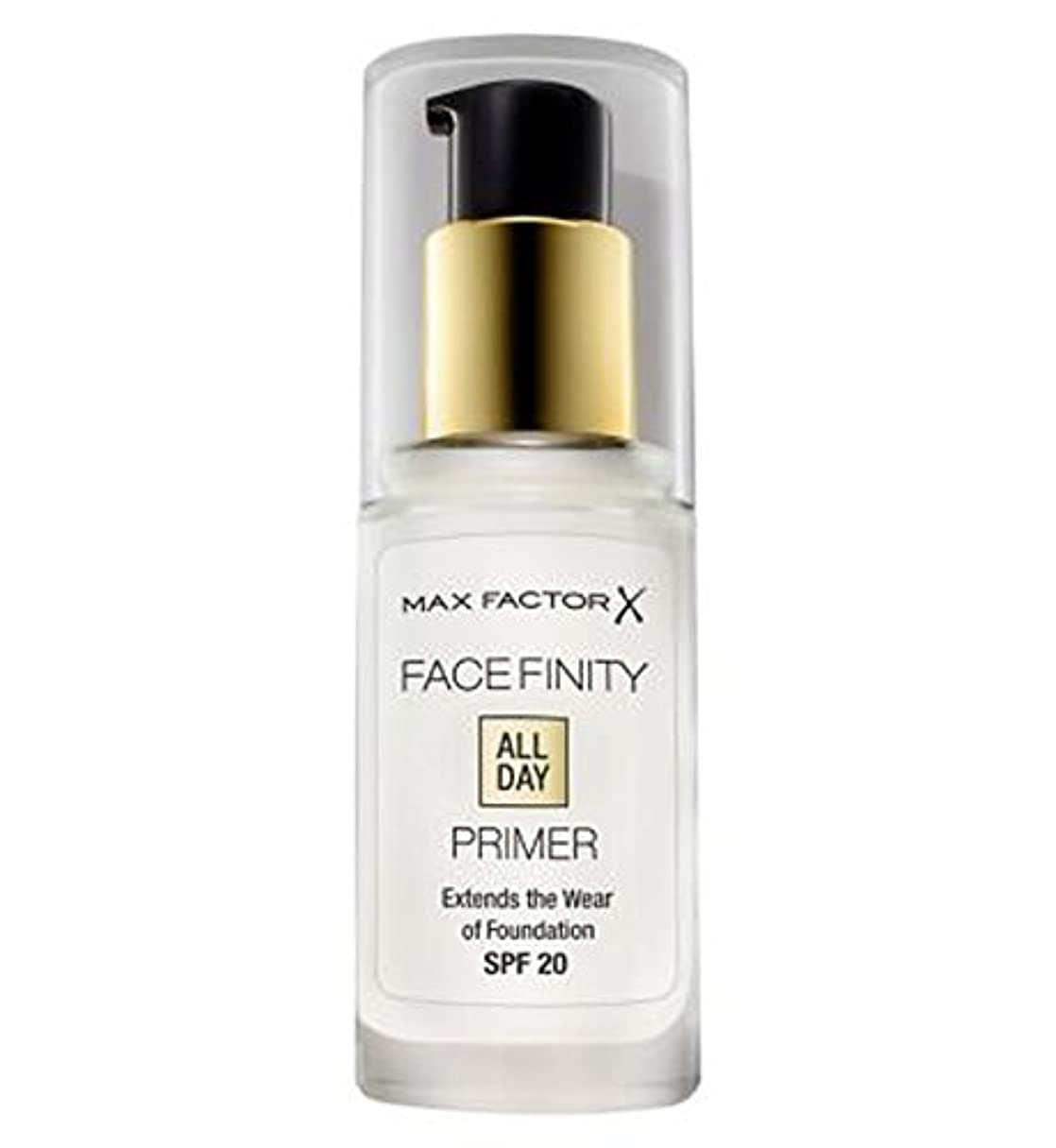津波正確部分的にMax Factor Facefinity All Day Primer - マックスファクターのFacefinity終日プライマー (Max Factor) [並行輸入品]