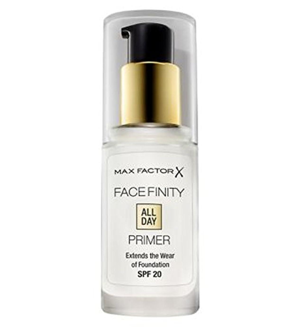 提供された間欠マックスファクターのFacefinity終日プライマー (Max Factor) (x2) - Max Factor Facefinity All Day Primer (Pack of 2) [並行輸入品]