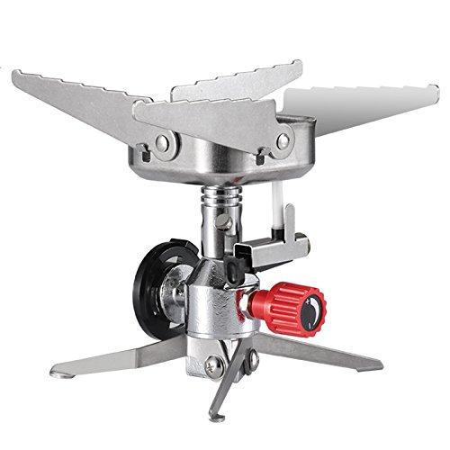 MARSNET ジュニアコンパクトバーナー, シングルバーナー カセットガス対応 ガスバーナー ミニ 登山 キャン...