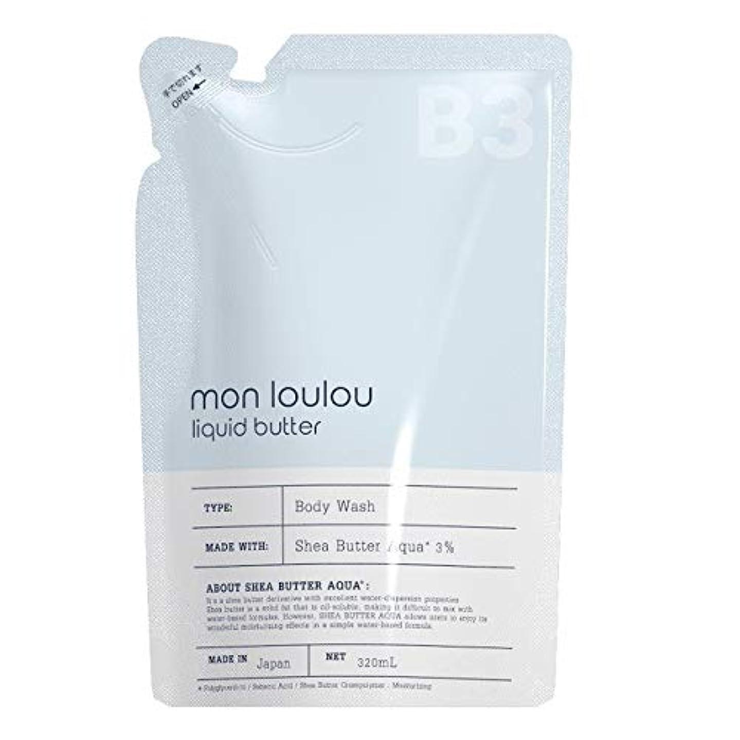 豚徴収ごみモンルル3% ボディウォッシュ 詰替 320mL