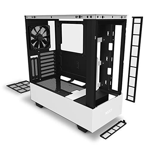 『NZXT H510 Elite 前面+側面ガラスパネル RGB LED発光&ファン制御機能搭載 [ White & Black ] CA-H510E-W1』の7枚目の画像