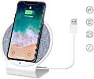 mbeat Aurora Dual Compact Coil Aluminium Wireless Fast Charging Desk Stand Charger 10W