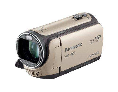 Panasonic デジタルハイビジョンビデオカメラ TM45 内蔵メモリー32GB キャメルベージュ HDC-TM45-C [Unknown format]