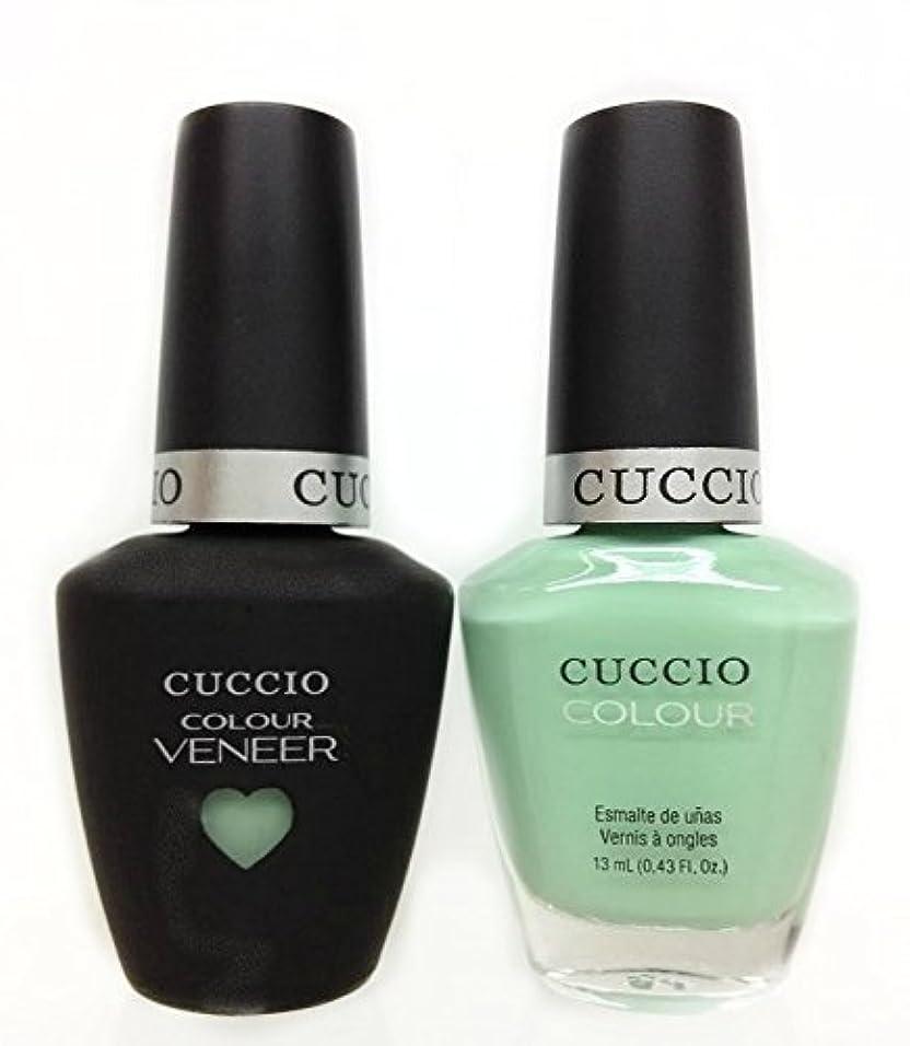 知的症候群症候群Cuccio MatchMakers Veneer & Lacquer - Mint Condition - 0.43oz / 13ml Each
