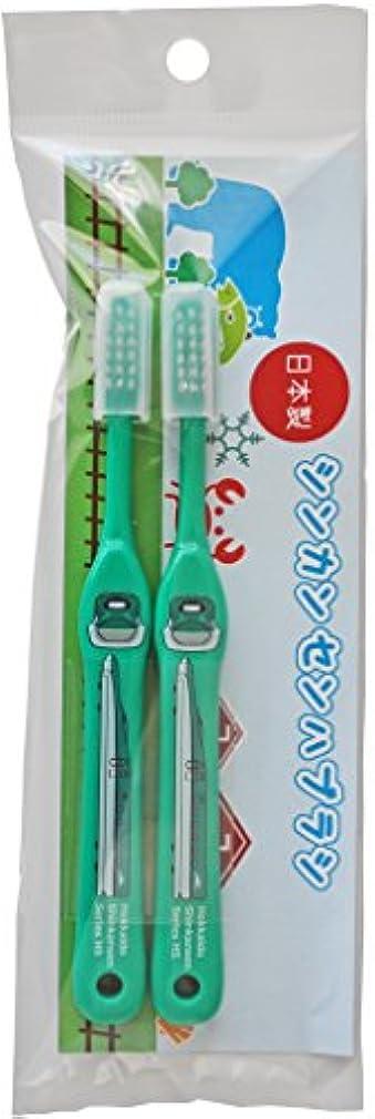 パラメータ食器棚ゴールデンSH-286 新幹線歯ブラシ2本セット H5系北海道新幹線