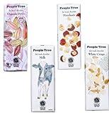 People Tree フェアトレードチョコ4個 セットA(ビター・ヘーゼル・ミルク・ホワイトクリスピー)