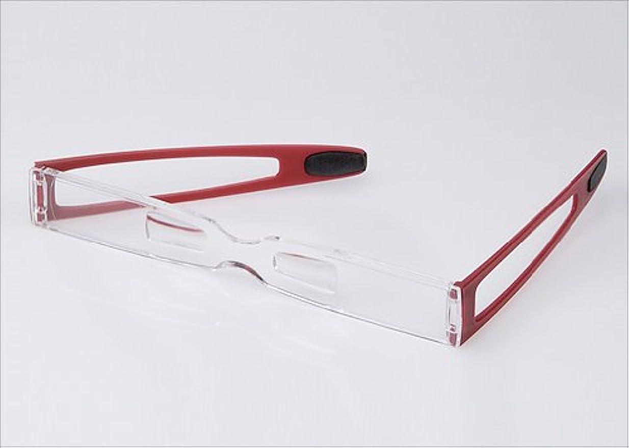 待って追跡選択するEschenbach(エッシェンバッハ) 鼻掛け式シニアグラス クリップ&リード レッド29161 2.5D(25)