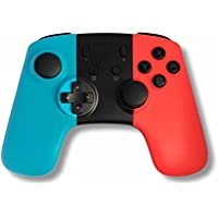 【Switchバージョン5.0.0に適用】AnvFlik ニンテンドー スイッチ ワイヤレス 無線 コントローラー ブルートゥース接続 ジャイロ HD振動 高耐久ボタン 日本取扱説明書付き 人間工学 任天堂 Nintendo Switch Controller