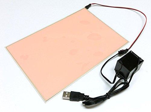 有機EL照明パネル(大) (ホワイト) (USB電源ユニット...