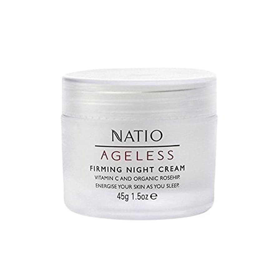 粗い回路準備Natio Ageless Firming Night Cream (45G) (Pack of 6) - 永遠ファーミングナイトクリーム(45グラム) x6 [並行輸入品]