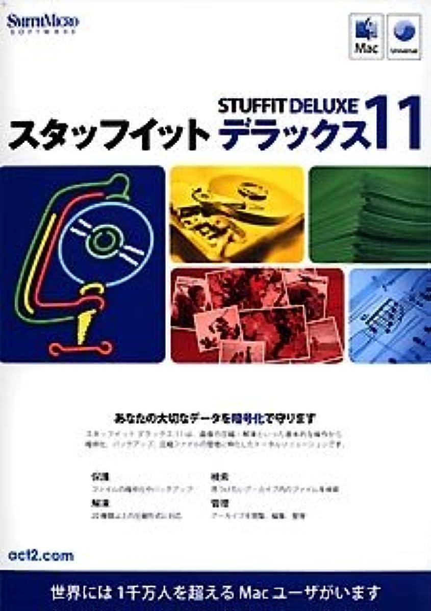 強打資産簡略化するStuffIt Deluxe 11.0J for Mac