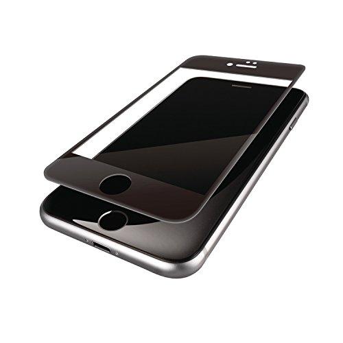 エレコム iPhone7 / アイフォン7 液晶保護 フルカバーガラスフィルム フレーム付 ブラック ブラック PMWA16MFLGGFLBK