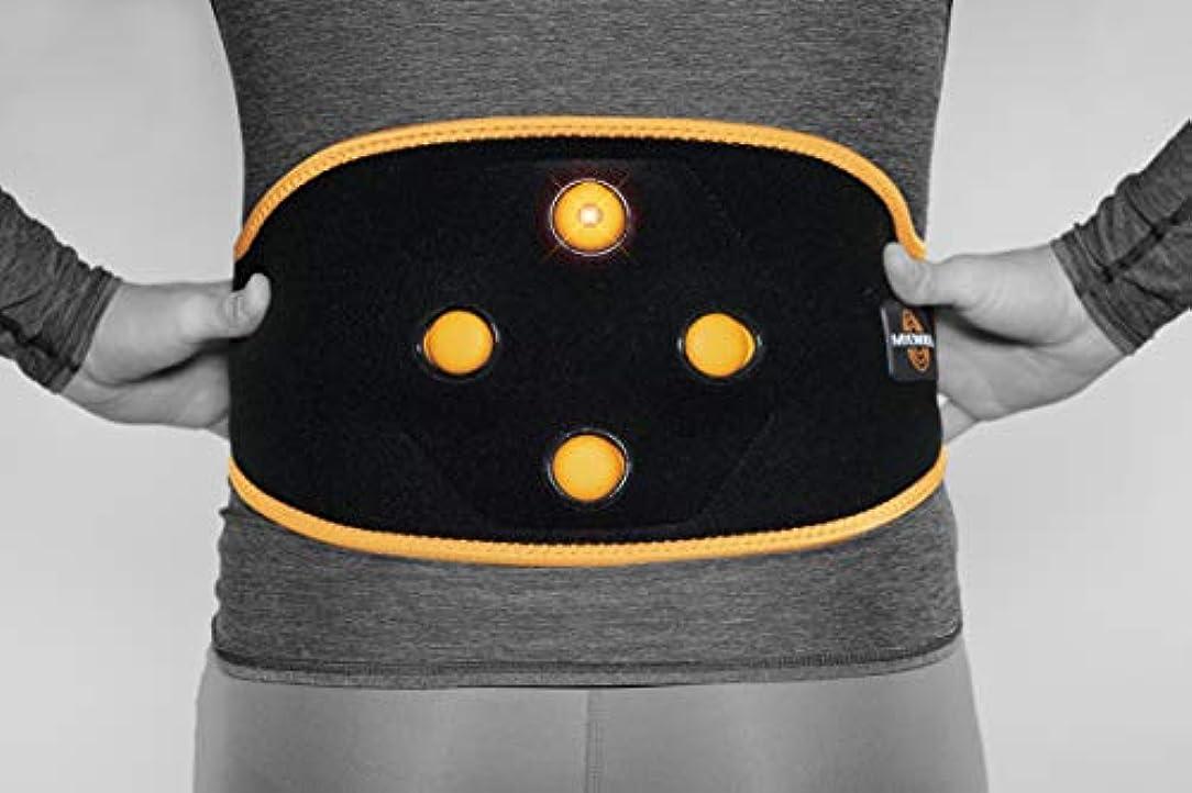 ビジュアル慈悲病Myovolt Wearable Massage Technology for Back & CORE/Vibration Therapy Device/筋肉こわばりが気になる方へ リラックス 141[並行輸入]