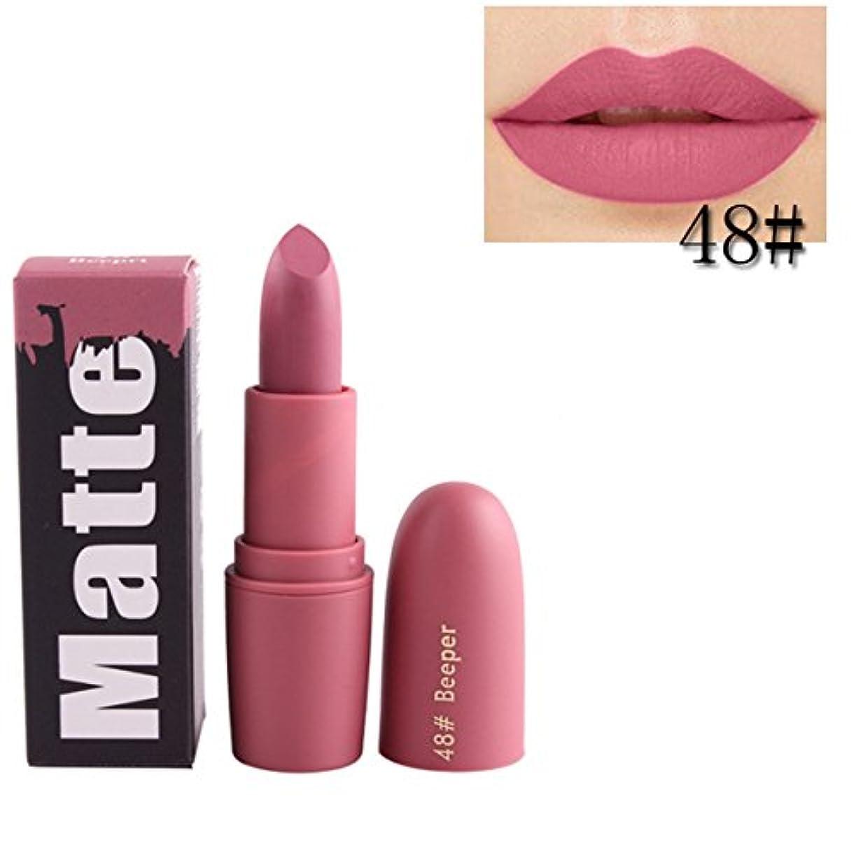 モザイクすずめこしょう女性口紅 BOBOGOJP 欧米風 ミストマット リップグロス 18色選択 保湿 持続性 魅力的 リップリップスティック モイスチャライジング リップスティックメイク 恋する唇 おすすめリップスティック (L)