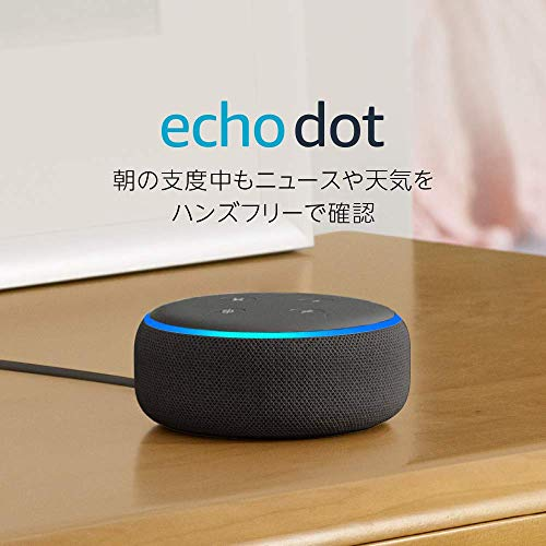 Amazonプライムデー「Echo Dot(第3世代)」4,000円オフの1,980円に