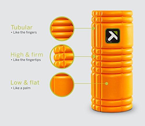 The GRID Foam Roller グリッドフォームローラーオレンジ【並行輸入品】