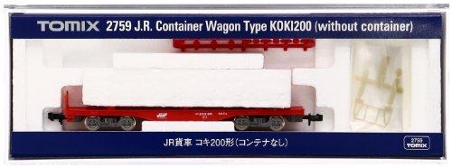 TOMIX Nゲージ 2759 コキ200 (コンテナなし)