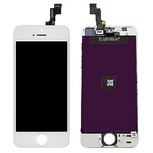 iPhone5S 修理用フロントパネルセット ホワイト