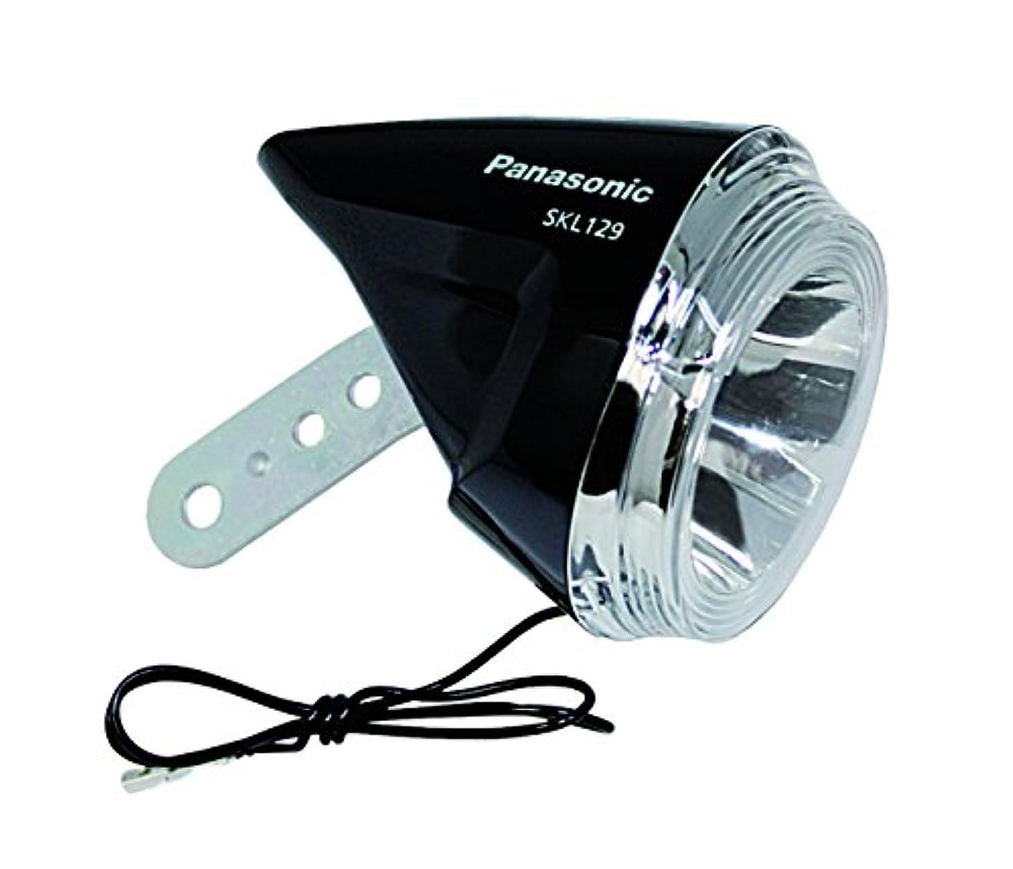 露出度の高いなぜなら耐えられないPanasonic(パナソニック) LEDハブダイナモ専用ライト SKL129 ブラック