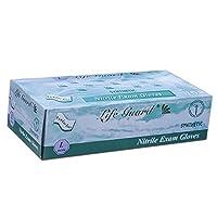 Life Guard 6304 Exam Gloves Nitrile Powder-Free Large Blue (Pack of 100) 【Creative Arts】 [並行輸入品]