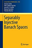 Separably Injective Banach Spaces (Lecture Notes in Mathematics)