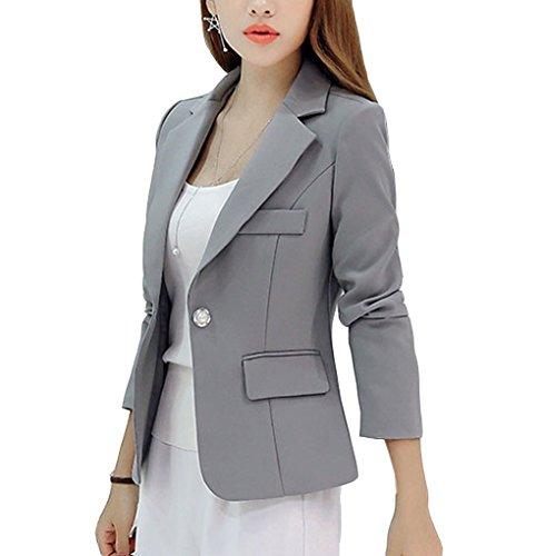 [해외][아름답다] 여성 의류 정장 코트 접어 칼라 긴 소매 레저 편안한 슬림 봄 여름 가을 겨울 취업 활동 통근 비즈니스 면접 무지/[Beautiful] Women`s clothing suit coat collar folding collar long sleeve leisure leisurely slim spring summer aut...