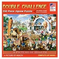 Great American Puzzle Factory Picture of Health 550 Piece Puzzle