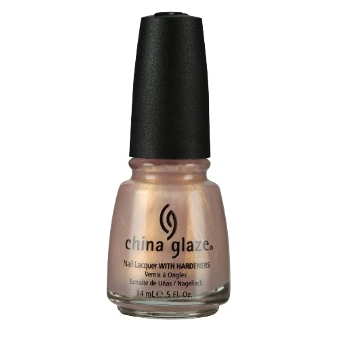 乱れ震える厚くするCHINA GLAZE Nail Lacquer with Nail Hardner - Camisole (並行輸入品)