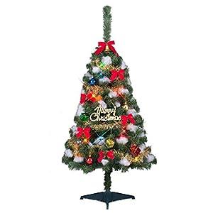 東京ローソク製造 クリスマスツリー ファミリーセットツリー 分割型 グリーン 120cm