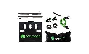 BODYBOSS2.0 筋トレ 自宅 トレーニング器具 〔1台で40種目以上のトレーニングを自宅で〕 ボディボス2.0