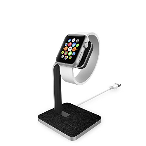MOPHIE Apple Watch Dockスタンド 「Apple Watch Dock Aluminum」 3224_WD ブラック