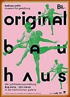 ポスター バウハウス Original sport 額装品 ウッドベーシックフレーム(オレンジ)