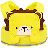 Trunki ToddlePak - Fuss Free Toddler Walking Reins & Kids Safety Harness – Leeroy Lion (Yellow)