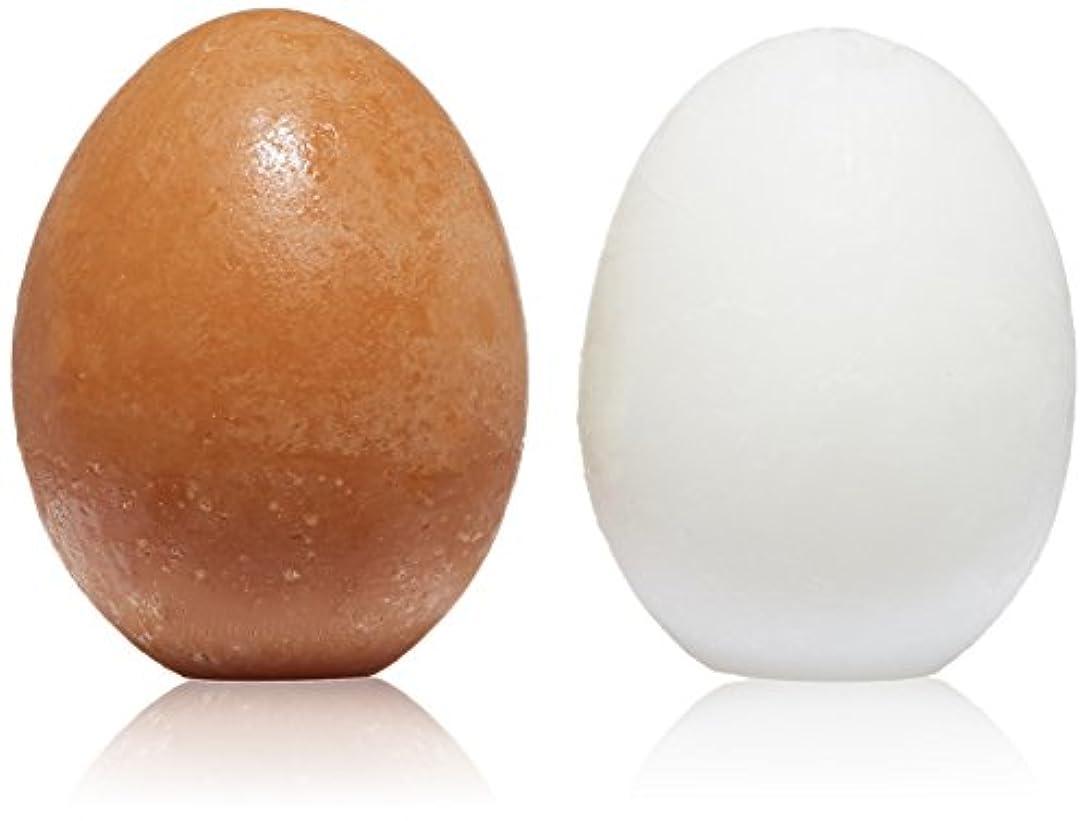 入る紫の裁判官トニーモリー Egg Pore Shiny Skin Soap 2x50g(8806358594442)