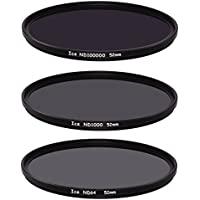 Ice Extreme NDフィルタセット52mm nd100000nd1000nd64ニュートラル密度5216.5,10、6Stop光学ガラス
