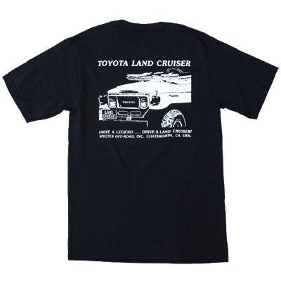 トヨタ ランドクルーザー半袖Tシャツ スペクターオフロード(SPECTER OFF-ROAD)361-40
