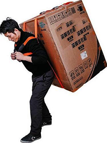 一人用家具 洗濯機 段ボール 荷物 引っ越し 背負い型 移動 グッズ キャリーベルト リフター 引っ越し 移動ベルト 運搬の助手 持ち上げ用ストラップ (A)