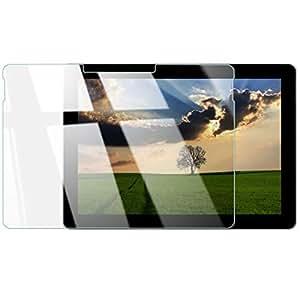 【Surface Go 10インチ対応】日本メーカー ガラスフィルム 全面保護 最高硬度 9H ケース干渉防止 強化ガラス 液晶保護フィルム 高透過率 気泡ゼロ 硬度9H SurfaceGo 透明1