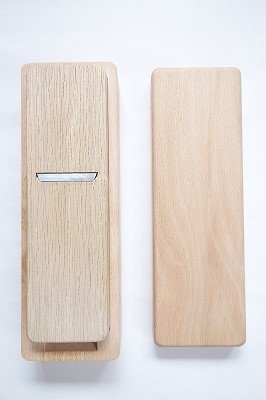 台屋の鰹節削り器 ブナ×SK 試し削り済 (若草) made in japan