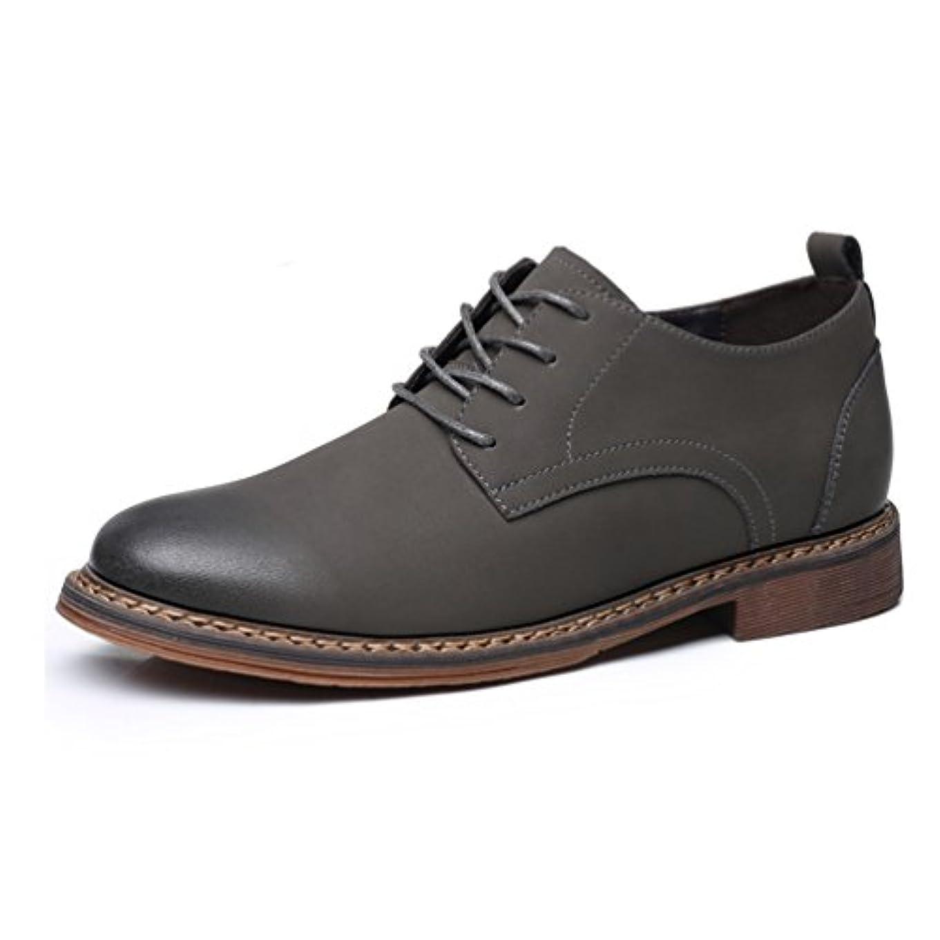 データベースアンタゴニスト概要紳士靴 ビジネスシューズ シークレット インヒール 6cm身長UP レースアップ フォーマル ワーク かっこいい カジュアル 履き心地良い 革靴 防水 おしゃれ 防滑 コンフォート メンズ 黒 グレー 23.5-26.5cm