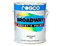 Rosco Off Broadwayペイントクロームレモンイエロー55ob5366( Quart )
